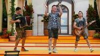 """Dorfrocker sind zu Gast bei der Musikshow """"Immer wieder sonntags"""" im Europa-Park in Rust."""
