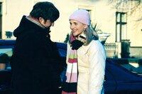 Bianca (Tanja Wedhorn, r.) ist jeden Tag glücklicher mit Eddie (Christoph Mory, l.).