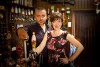 Matt Rowntree (Lee Boardman), Nikki Rowntree (Kacey Ainsworth).