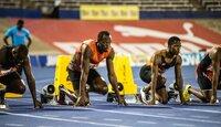 Usain Bolt (2.v.l.)