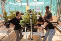 Prof. Almuth Arneth, Ökosystemforscherin und ihr Team untersuchen Auswirkungen der Erderwärmung auf die Landwirtschaft am Karlsruher Institut für Meteorologie und Klimaforschung.