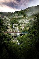 Die Nebenstrecke nach Kuranda führt durch tropische Wildnis.