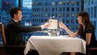Anastasia Steele (Dakota Johnson) und Christian Grey (Jamie Dornan) geben sich noch eine Chance.