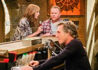 Allison Janney (Bonnie), Larry Joe Campbell (Mike), William Fichtner (Adam).