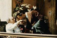 Frankie Pentangeli (Michael V. Gazzo, li.) und Don Vito Corleone (Robert De Niro, re.)