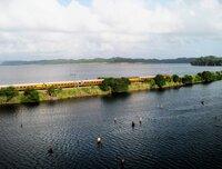 Die Panama Canal Railway