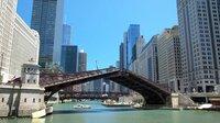 Wasserstraßen in Chicago.