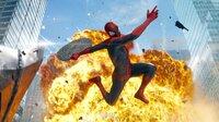 Spider-Man (Andrew Garfield) kämpft gegen das Böse