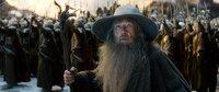 Vorne: Gandalf, der Graue (Ian McKellen)