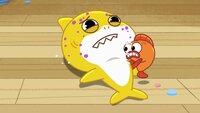 L-R: Baby Shark, William