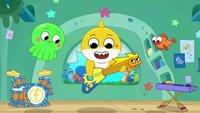 L-R: Vola, Baby Shark, William