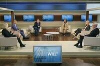 v.l.: Christiane Hoffmann (Autorin im Hauptstadtbüro des SPIEGEL), Otto Fricke (FDP), Konstantin von Notz (Bündnis 90/ Die Grünen), Anne Will (Moderatorin), Manuela Schwesig (SPD), Norbert Röttgen (CDU)