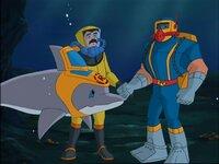 Jake und sein Delfin retten Tauchern das Leben.