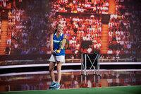 10 Jahre Klein gegen Gross Tennis-Duell zwischen Tamina und Martina Hingis (Bild). SRF/NDR/Thorsten Jander