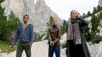 Matteo (Tobias Oertel), Sonja (Chiara Schoras, re.) und Sonderermittlerin Carla Pisani (Jeanette Hain) wollen der Mafia das Handwerk legen.