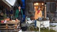 Annette Krause besucht Suzana Vriocki in Haus Beseler in Hinterstein.