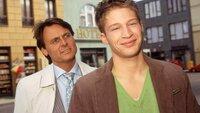 Tim (Oliver Bender, re.) will sich von Gerner (Wolfgang Bahro) nicht einschüchtern lassen und zeigt sich kämpferisch.