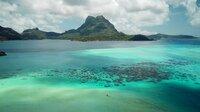Drohnenflug über Bora Bora, Gesellschaftsinseln