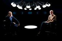 Richard David Precht im Gespräch mit dem Autor und Förster Peter Wohlleben.