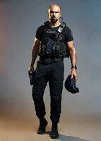 Daniel 'Hondo' Harrelson (Shemar Moore)