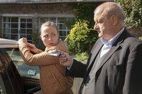 Nele Blank (Katja Danowski) und Wilsberg (Leonard Lansink).