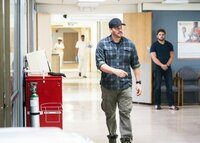 Pictured L to R: David Boreanaz as Jason Hayes and Max Thieriot as Clay Spenser.