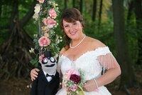 Traumhochzeit mit der Braut (Nina Vorbrodt) und ihrem Mann