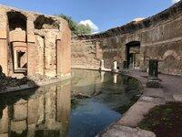 The Maritime Theatre in Hadrian?s Villa (Landscape).