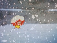 Als Pumuckl den ersten Schnee entdeckt, möchte er unbedingt eine Wagenladung davon in die Werkstatt holen, um damit zu spielen. Als er sich über ein Verbot Meister Eders hinwegsetzt, erlebt er Überraschungen.