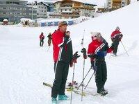 Skilehrer der Bundeskiakademie.