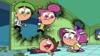 L-R: Cosmo, Wanda, Timmy, Chloe