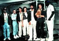 L-R: Brett (Harry Dean Stanton), Ash (Ian Holm), Kane (John Hurt), Lambert (Veronica Cartwright), Dallas (Tom Skerritt), Ripley (Sigourney Weaver) und Parker (Yaphet Kotto)