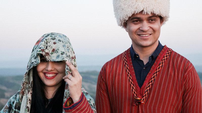Eine turkmenische Hochzeit