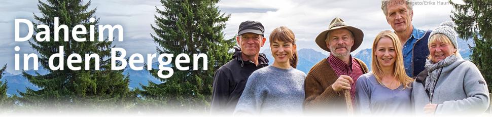 Drehort Daheim In Den Bergen