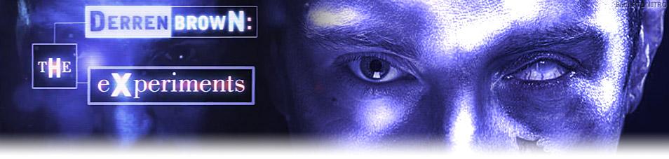 Derren Brown: Die Experimente