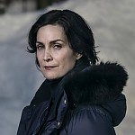 "Carrie-Anne Moss als Trinity in den ""Matrix""-Filmen"