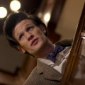 "Matt Smith als ""Doctor Who"""