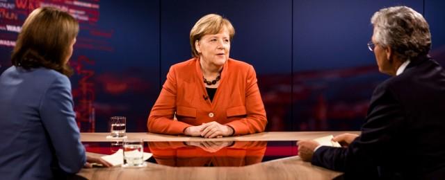 Angela Merkel führt zu Programmänderungen im Ersten und im ZDF