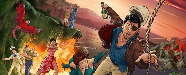 """Sterling Archer verschlägt es nach """"Danger Island"""""""