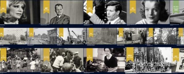 ARD Retro startet: Zeitgeschichtliches und nostalgisches Videomaterial kommt in die ARD Mediathek