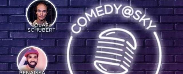 """Neue Eigenprodukton """"Comedy@Sky"""" im Dezember"""