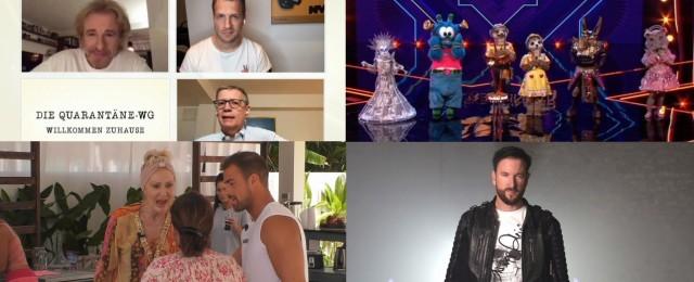 Das deutsche Fernsehjahr 2020 im Rückblick (Teil 1): Quarantäne-TV, Masken-Shows und Wendler-Wahnsinn