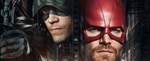 Oliver Queen und Barry Allen tauschen die Rollen
