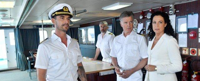 Joko Winterscheidt, Sarah Lombardi und Uschi Glas an Bord