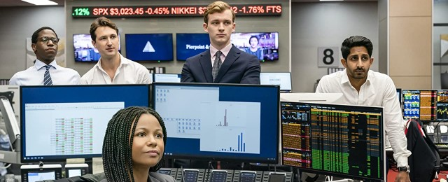 Fünf junge Aktienhändler kämpfen um die Festanstellung