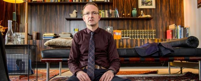 Peter Jordan als Außendienstkoordinator eines Staubsaugerherstellers