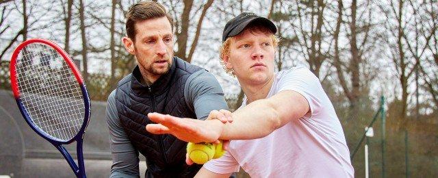 """Bruno Alexander (""""Wir Kinder vom Bahnhof Zoo"""") verkörpert das Tennis-Ass"""