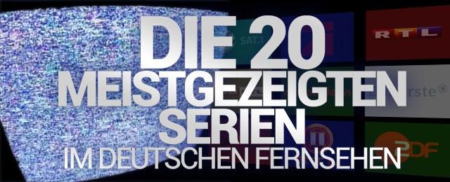 Overkill: Das sind die meistgezeigten Serien im deutschen Free-TV