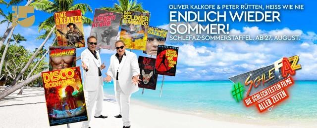 """""""SchleFaZ"""": Sommerstaffel startet Ende August mit """"Disco Godfather"""" bei Tele5"""