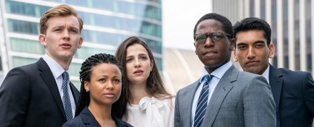 Hochschulabsolventen werden mit der harten Realität in einer Londoner Investmentbank konfrontiert